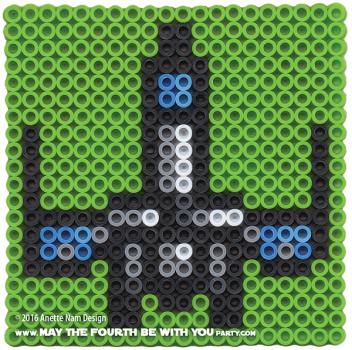 The Force Awakens Poe's T-70 X-Wing Perler Pattern. /// We add new patterns to our blog every week! Click the URL and follow us to make sure you don't miss any! /// Star Wars perler, hama bead, cross-stitch, knitting, Lego, pixel pattern /// Note: Patterns are ©, and your work must include © if posted, and can not be sold. See blog for complete ©. #pixel #pixelart #perler #perlerbeads #hama #hamabeads #starwars #crossstitch #lego #knitting #mosaic #xwing #t70 #theforceawakens #poe #poedameron maythefourthbewithyoupartyblog.com
