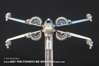 Star Wars X-Wing Miniatures Game: The Force Awakens T-70 X-Wing /// We add new Star Wars fun on our blog every week! /// #starwars #theforceawakens #xwingminiaturesgame #boardgames #review #xwing /// maythefourthbewithyoupartyblog.com