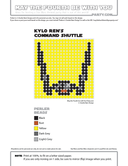 Kylo Ren's Command Shuttle Perler Pattern. /// We add new patterns to our blog every week! Click the URL and follow us to make sure you don't miss any! /// Star Wars perler, hama bead, cross-stitch, knitting, Lego, pixel pattern /// Note: Patterns are ©, and your work must include © if posted, and can not be sold. See blog for complete ©. #pixel #pixelart #perler #perlerbeads #hama #hamabeads #starwars #crossstitch #lego #knitting #mosaic #diy #kylo #kyloren #commandshuttle #theforceawakens maythefourthbewithyoupartyblog.com