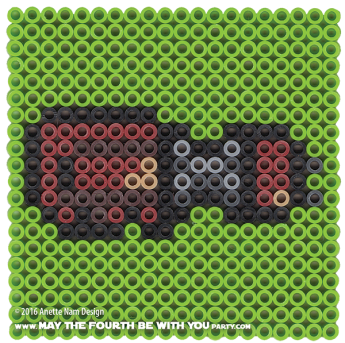 Rey's Speeder Perler Pattern. /// We add new patterns to our blog every week! Click the URL and follow us to make sure you don't miss any! /// Star Wars perler, hama bead, cross-stitch, knitting, Lego, pixel pattern /// Note: Patterns are ©, and your work must include © if posted, and can not be sold. See blog for complete ©. #pixel #pixelart #perler #perlerbeads #hama #hamabeads #starwars #crossstitch #lego #knitting #mosaic #rey #speeder #reysspeeder #reyspeeder #theforceawakens maythefourthbewithyoupartyblog.com