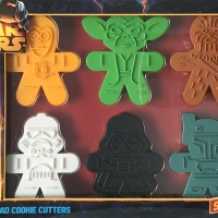 Flavored Star Wars Sugar Cookies