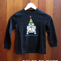 DIY R2-D2 Star Wars Party Shirt