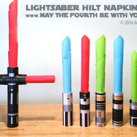 DIY Lightsaber Hilt Napkin Rings (Part 1)
