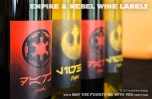 Star Wars Food: Downloadable Empire and Rebels Wine Label /// Check out our blog for lots of Star Wars Party food recipes and downloadable labels! Great for a Birthday Party or a May the Fourth be with you Party. /// #starwars #starwarsparty #maythefourthbewithyou #starwarsbirthday #starwarsfood #wine #rebels #empire #maythe4thbewithyou #downloadble #label #sith #jedi maythefourthbewithyoupartyblog.com