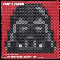Darth Vader Perler Pixel Pattern