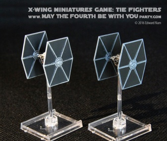 Star Wars X-Wing Miniatures Game: Rebels TIE fighter /// We add new Star Wars fun on our blog every week! /// #starwars #theforceawakens #xwingminiaturesgame #boardgames #review #xwing #rebels #starwarsrebels #miniature #tie #tiefighter /// maythefourthbewithyoupartyblog.com