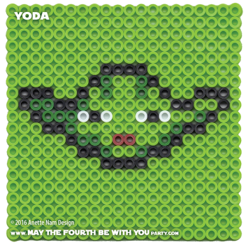 Yoda Perler Pattern. // We add new patterns to our blog every week! Click the URL and follow us to make sure you don't miss any! // Star Wars perler, hama bead, cross-stitch, knitting, Lego, pixel pattern // Note: Patterns are ©, and your work must include © if posted, and can not be sold. See blog for complete ©. #pixel #pixelart #perler #perlerbeads #hama #hamabeads #starwars #crossstitch #lego #knitting #mosaic #fusebeads #yoda #jedi // maythefourthbewithyoupartyblog.com