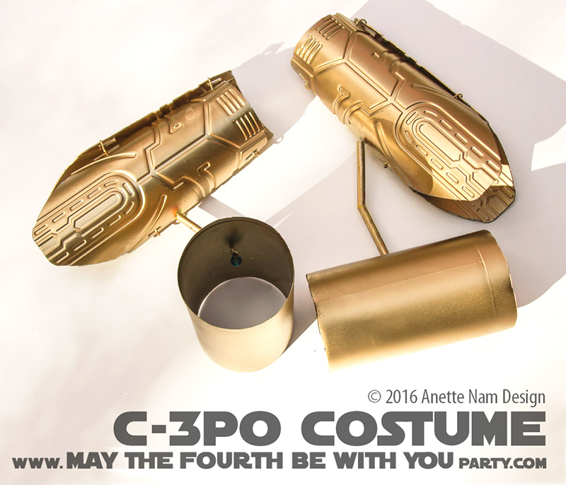 May The 4th Be With You Event Ideas: Gold Winner! (DIY C-3PO Costume)