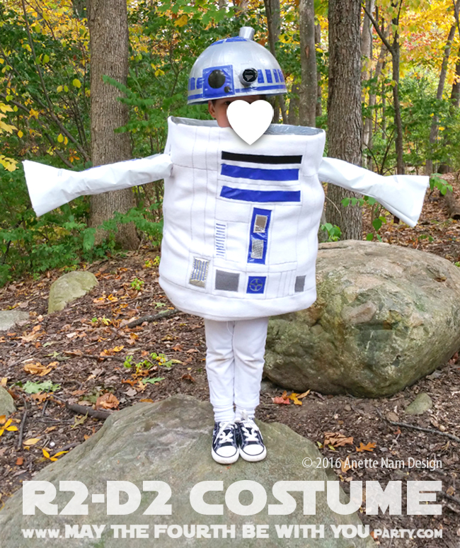 Husband May The 4th Be With You: U-R2-Cute! (DIY R2-D2 Costume)