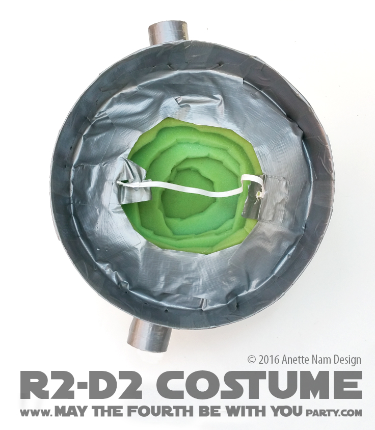 May The 4th Be With You Decorations: U-R2-Cute! (DIY R2-D2 Costume)