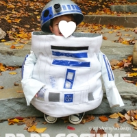 U-R2-Cute!  (DIY R2-D2 Costume)