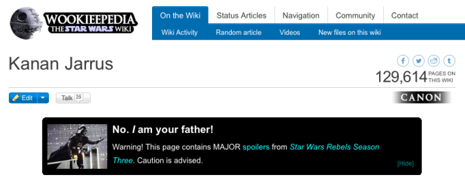 Kanan Jarrus wookieepedia screenshot rebels season 3 maythefourthbewithyoupartyblog.com