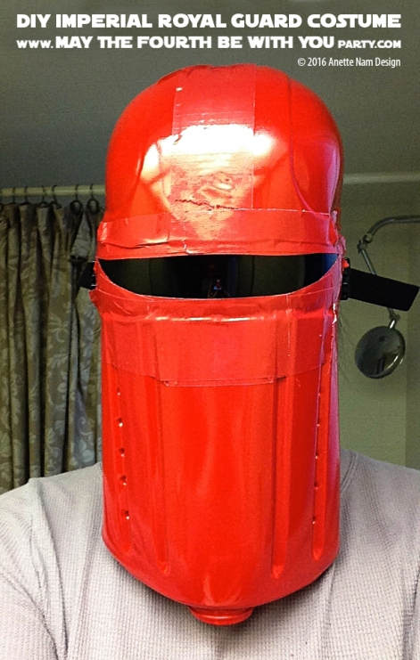 Seeing Red Diy Imperial Red Guard Costume May The
