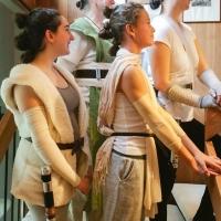 Array of Reys (Easy DIY Rey Costume)