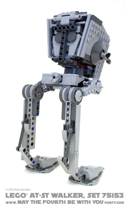 Star Wars Rogue One LEGO AT-ST Walker, Set 75153 /// We add new Star Wars fun on our blog every week! /// #starwars #rogueone #lego #minifig #atst #atstwalker #review #starwarslego /// maythefourthbewithyoupartyblog.com
