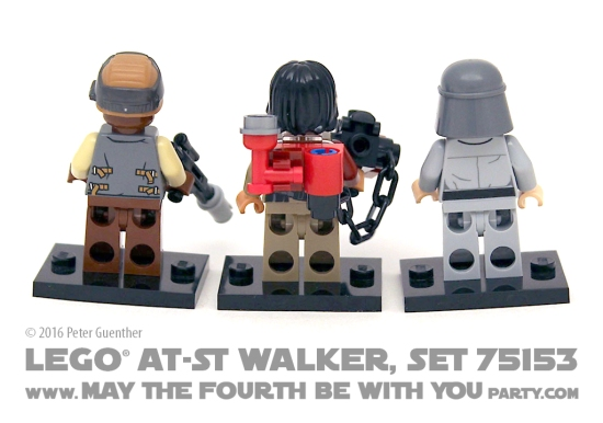 Star Wars Rogue One LEGO AT-ST Walker, Set 75153 /// We add new Star Wars fun on our blog every week! /// #starwars #rogueone #lego #minifig #atst #atstwalker #review #starwarslego #bazemalbus /// maythefourthbewithyoupartyblog.com