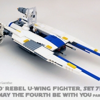 Review of LEGO® Rebel U-Wing Fighter, Set 75155