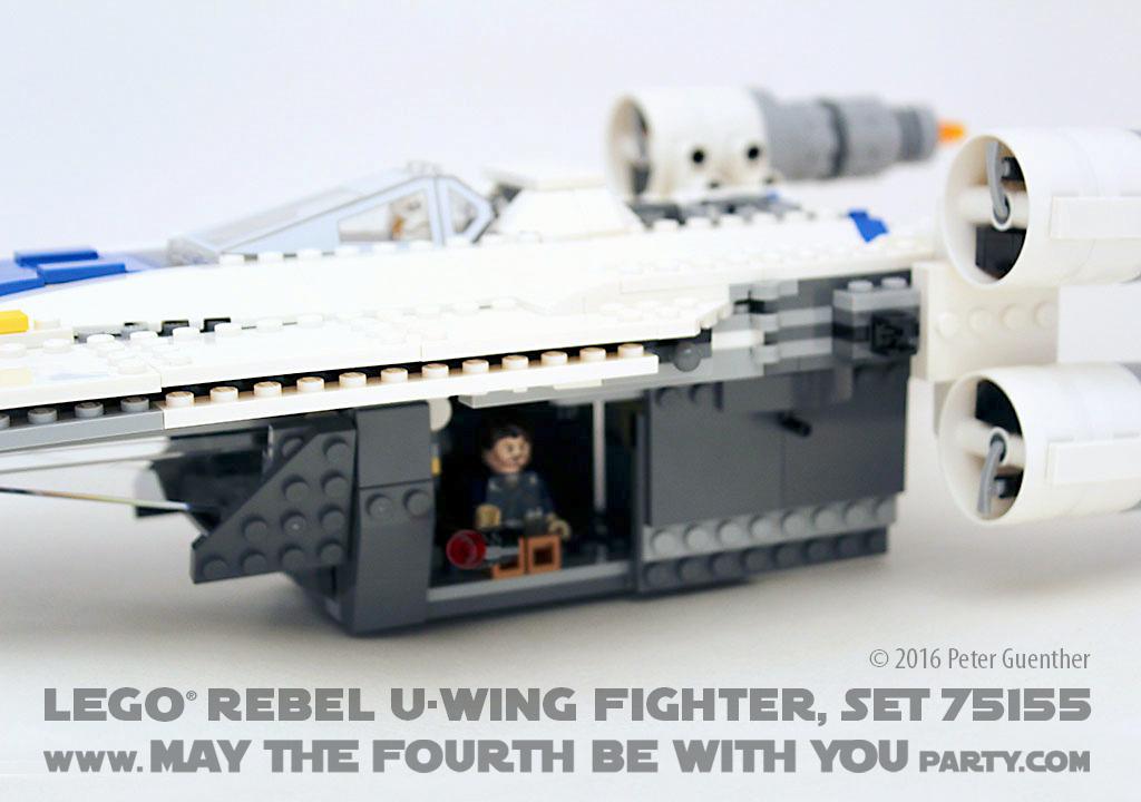 LEGO Star Wars Rebel U-Wing Fighter Brand New in Box 75155