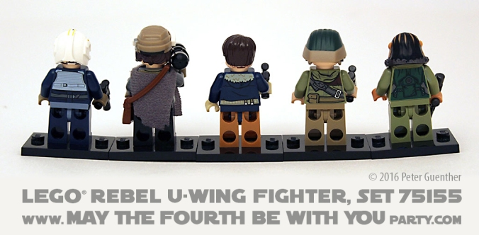Star Wars Rogue One LEGO Rebel U-Wing Fighter, Set 75155 /// We add new Star Wars fun on our blog every week! /// #starwars #rogueone #lego #minifig #uwing #review #starwarslego #jynerso #cassianandor #bistan /// maythefourthbewithyoupartyblog.com
