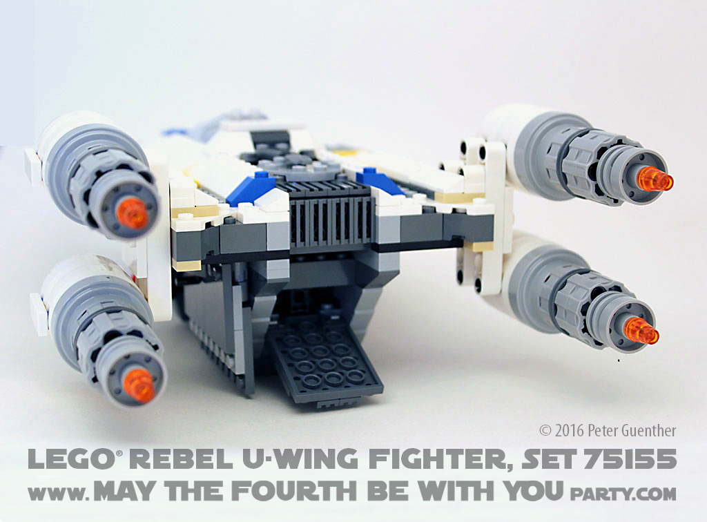 Review Of Lego Rebel U Wing Fighter Set 75155 May The