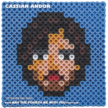 Cassian Andor Perler Pattern / We add new patterns every week! Follow us to make sure you don't miss any! / Star Wars perler, hama bead, cross-stitch, knitting, Lego, pixel pattern / Patterns are © Your work must include © if posted, and can not be sold. See blog for complete ©. #pixel #pixelart #perler #perlerbeads #hama #hamabeads #artkal #fusebeads #starwars #crossstitch #lego #knitting #mosaic #cassian #cassianandor #rogueone #pattern maythefourthbewithyoupartyblog.com
