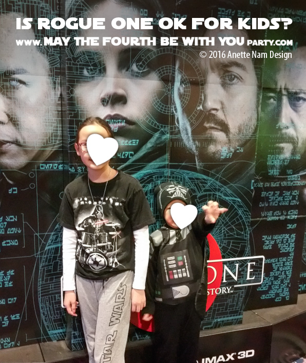 Can kids see Rogue one - Review /// #starwars #theforceawakens #rogueone #review #jynerso/// maythefourthbewithyoupartyblog.com