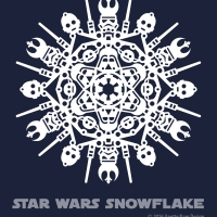 Star Wars Snowflake Pattern #1 (downloadable)