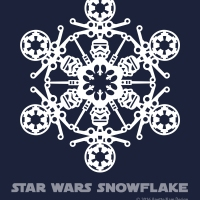Star Wars Snowflake Pattern #2 (downloadable)
