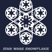 Star Wars Snowflake Pattern #3 (downloadable)
