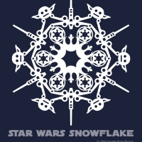 Star Wars Snowflake Pattern #4 (downloadable)