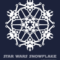 Star Wars Snowflake Pattern #5 (downloadable)