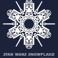 Star Wars Snowflake Pattern #6 (downloadable)