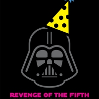 "DIY Darth Vader ""Revenge of the Fifth"" Shirt"
