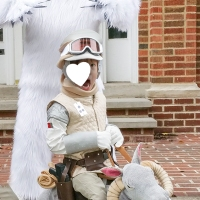 HAPPY HALLOWEEN! (DIY Hoth Luke on Tauntaun, and Wampa Costumes)