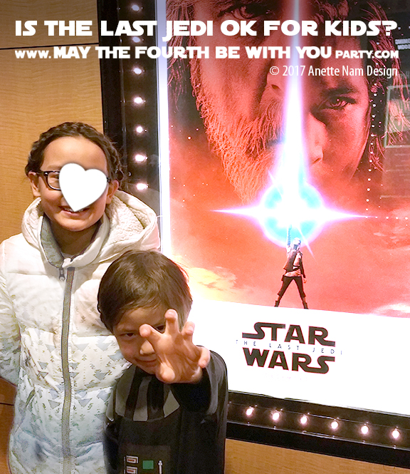 Can kids see Star Wars The Last Jedi - Review /// #starwars #thelastjedi #review /// maythefourthbewithyoupartyblog.com