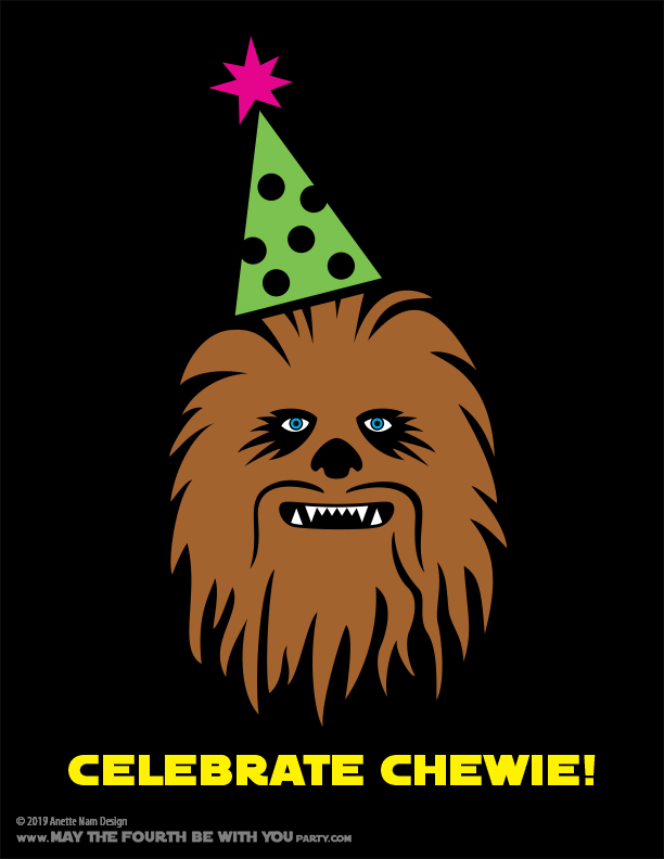Celebrate Chewbacca On May The Fourth